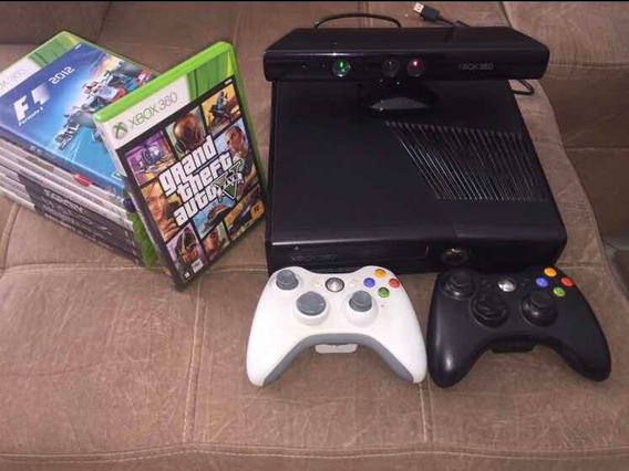 Xbox 360 Slim Black Bloqueado