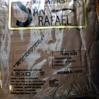Oferta 2 X 1 Sabanas Ks San Rafael Algodon Telas Importadas