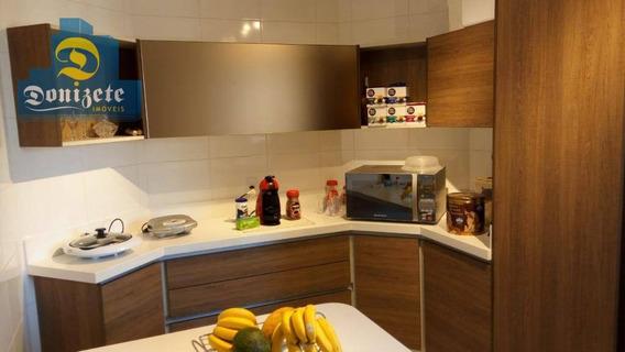 Apartamento Com 3 Dormitórios À Venda, 92 M² Por R$ 530.000,00 - Vila Assunção - Santo André/sp - Ap10161