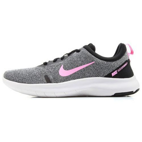 Tênis Nike Feminino Flex Experience Rn 8 - Cinza E Rosa