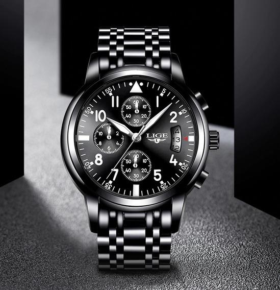 Relógio Masculino Luxo Esportivo Original Promoção