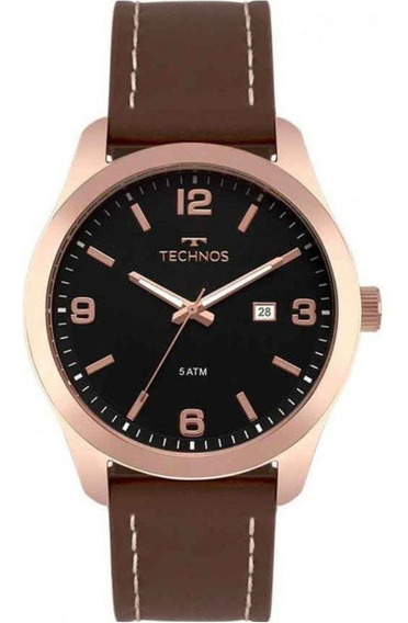 Relógio Technos Masculino Steel 2115mpj/2p Rosé - Promo Nfe