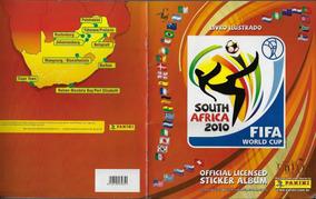 2010 Álbum De Figurinhas Campeonato Mundial Futebol Completo