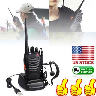 Dos Manera Radio Scanner Portátil Policía Fuego Transceptor