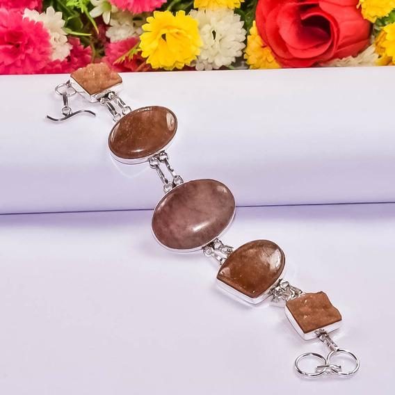 Pulseira Facetada Prateada - Fashion Vintage Stone