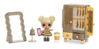 Set De Juego Boutique Con Muñeca Queen Bee Y 10 Sorpresas