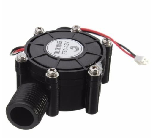 Mini Gerador Fluxo De Água Hidro | 12v 10w | Energia