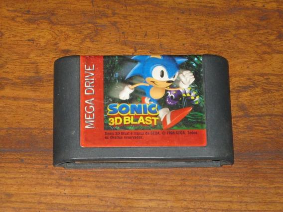Sonic 3d Blast - Cartucho Para Mega Drive / Sega Genesis
