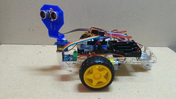 Kit Meu Primeiro Robo - Tdc Projetos - Arduo Eletro