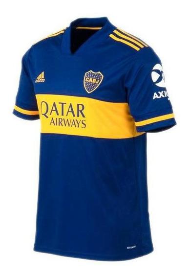 Camiseta adidas Boca Jrs Oficial 2020 De Hombre Gl4175
