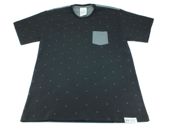Camiseta Hocks Básica M/c Equipe Preto/cinza H16076