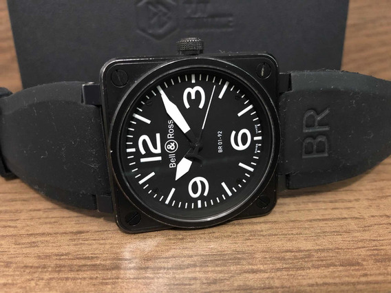 Bell & Ross Br 01-92 Carbon Automático 46mm