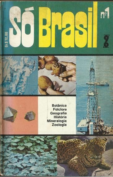 Revista Só Brasil Nº 1 Editora Abz Anos 70 Rara Antiga