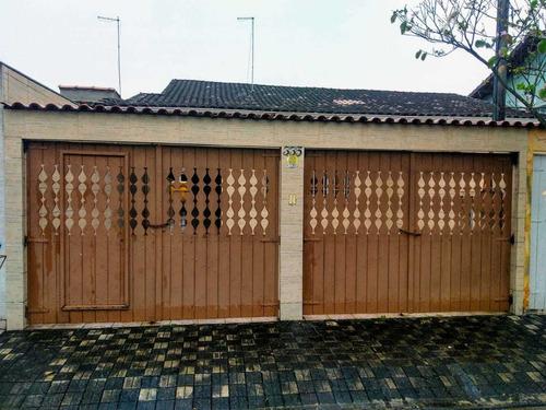 Casa Lado Praia 2 Dormitórios Com Churrasqueira Em Mongaguá
