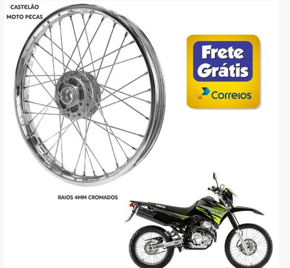 Roda Montada Dianteira Moto Xtz Lander 250