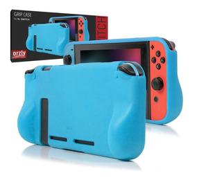 Protector Funda Nintendo Switch Rigida Silicona Duro Orzly
