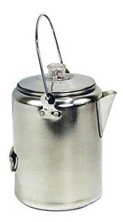 Tetera De Aluminio Texsport De 20 Tazas, Cafetera Para Acamp