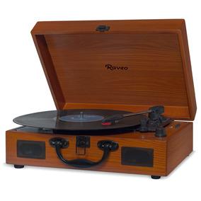 Vitrola Raveo Sonetto Wood Toca-discos Bluetooth Usb