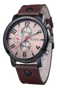 Reloj Curren Original Cuero Deportivo Moda Hombre Caballero