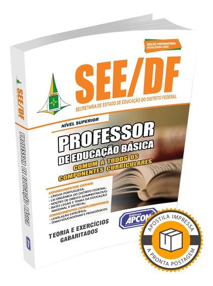 Apostila Se Df 2020 - Comum Professor De Educação Básica