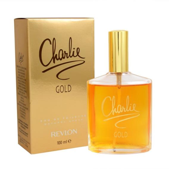 Charlie Gold 100 Ml Eau De Toilette Spray De Revlon