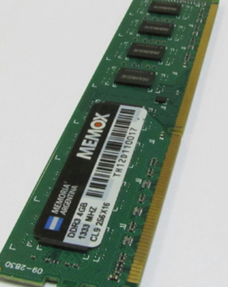 Memoria Ram 4 Gb Ddr3 Memox 1333 Mhz