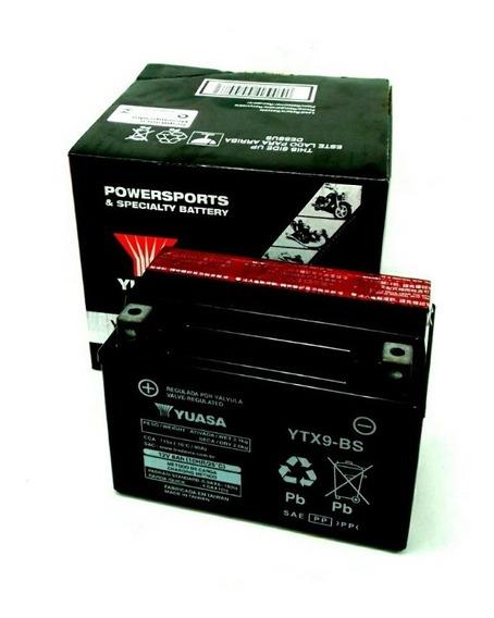 Bateria Yuasa Ytx9-bs Xt 600 Klx 650 Zx 750r