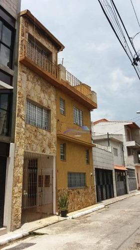 Sobrado Com 3 Dormitórios Para Alugar, 160 M² Por R$ 1.900,00/mês - Jardim Vila Formosa - São Paulo/sp - So0101
