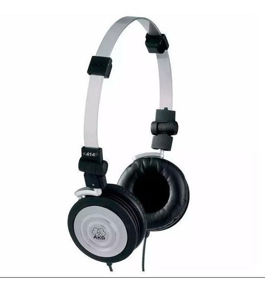 Fone Ouvido Akg K414p 414p K414 Original + Bag