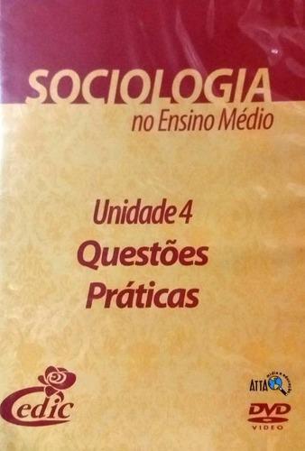 Imagem 1 de 1 de Dvd Questões Práticas Sociologia - Original