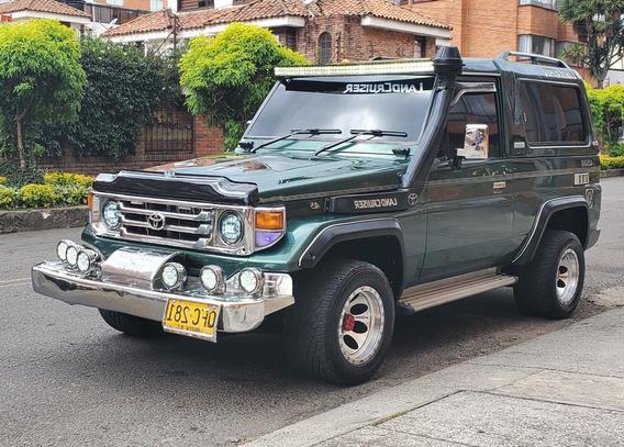 Toyota Land Cruiser Camioneta Sonido Económica Barata Garant