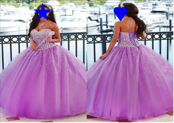 Vestido De 15 Años Sandra Yan Alta Costura