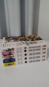 Mangá Lobo Solitário (vol 1-4) + Novo Lobo S. (vol 1) Panini