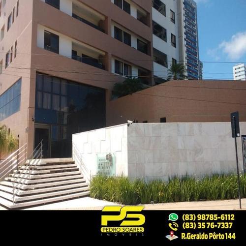(oferta) Apartamento No Bessa Com 3 Quartos Sendo 1 Suíte - Ap2131