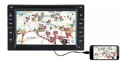 Central Multimidia Dvd Tay Tech S95 Bt Gps Tv Espelhamento