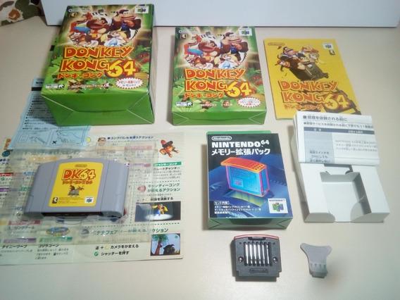 Donkey Kong 64 - Box Edição Especial - Original Japonês