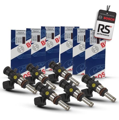 Jogo 6 Bicos Injetores Bosch 108 Lbs/h 280 158 040