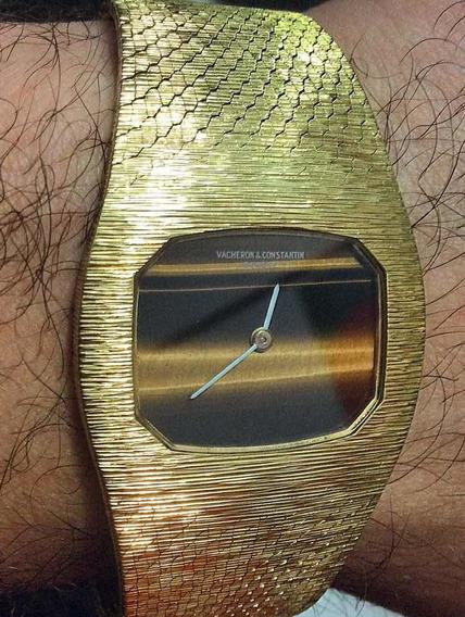 Relógio Vacheron Constantin Ouro 18k 750 Antigo A Corda