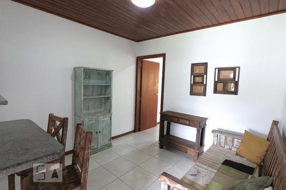 Apartamento No 1º Andar Mobiliado Com 1 Dormitório - Id: 892988561 - 288561