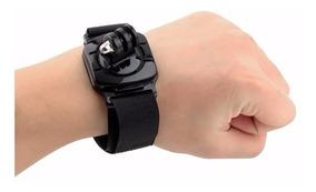 Suporte Pulso 360 Wrist Strap Acessorios Gopro Sjcam Session