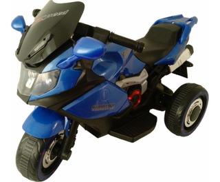 Moto Infantil Eléctrica Con Sonido Y Luces. Mini Moto Azul