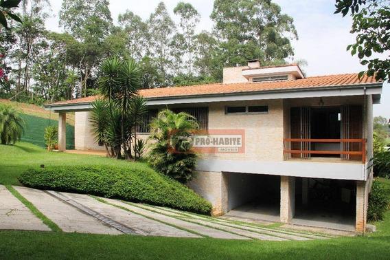 Casa - 500 M² - 4 Dorm. Granja Viana - Cond. Residencial Chácara Dos Lagos - Ca0343