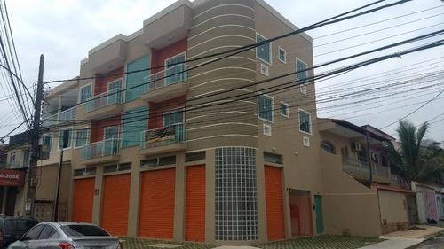 Apartamento Em Campo Grande, Rio De Janeiro/rj De 43m² 1 Quartos À Venda Por R$ 210.000,00 - Ap194886