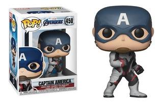 Funko Pop Capitan America 450 - Avengers Endgame