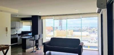 Departamento Semi-amueblado En Renta En Boca Towers Residencial