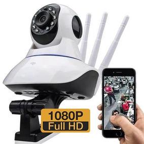 Câmera Ip Segurança Wifi 3 Antenas 1320 Wireless Fhd 1080p