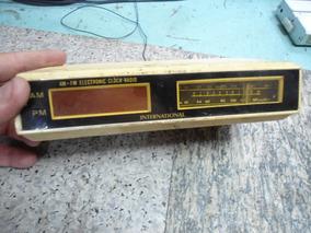 Sucata De Rádio Relógio International H333
