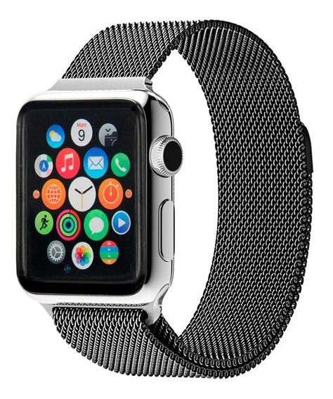 Pulseira Milanes Compativel Iwatch Gf 38mm