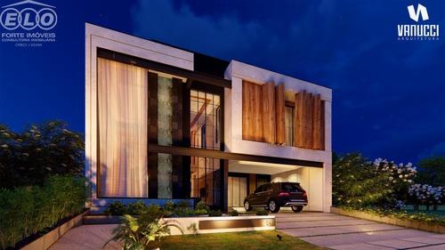 Imagem 1 de 2 de Sobrado, Á Venda 3 Suites, No Condominio Residencial Milano, Indaiatuba, At: 300 M² Ac:284 M² - Ca05486 - 69560138