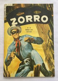 Zorro - 1ª Série - Nº 37 - Fac-símile